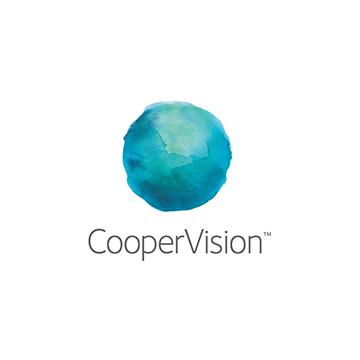 Logotipo de la marca de lentes Coopervision