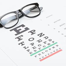 Examen visual agudeza visual