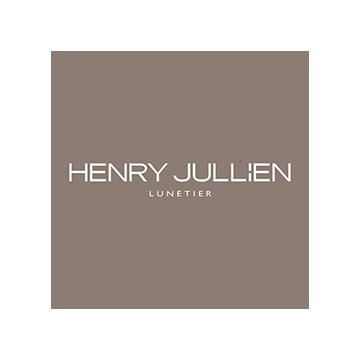 Logotipo de la marca de lentes Henry Jullien