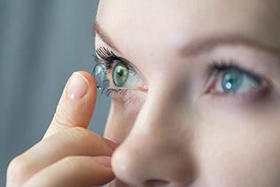 lentes de contacto personalizadas