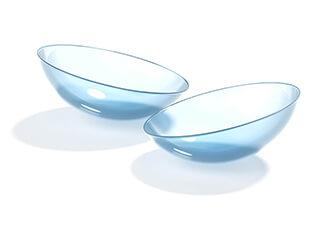lentes de contacto óptica do mar