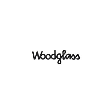 Logotipo de la marca de lentes Woodglass