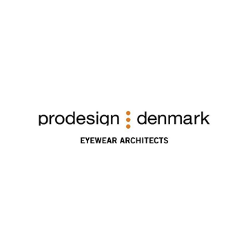 Logotipo de la marca de lentes Prodesign Denmark