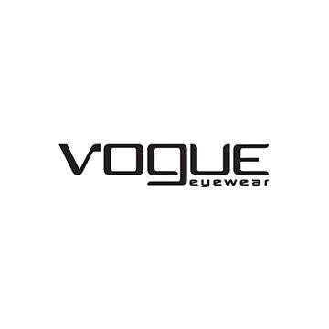 Logotipo de la marca de lentes Vogue