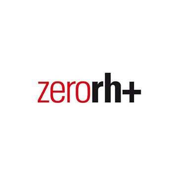 Logotipo de la marca de lentes Zero RH